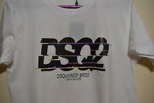 Dsquared2 DSQ2 slice logo print T-shirt - White - UK Seller -  S - XL