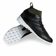 New Adidas Copa Mid TF Turf GTX Soccer Shoes Leather Boost Black Green sz 6.5