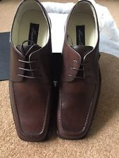 Kenneth Cole Contemporary Brown leather 10.5D NIB