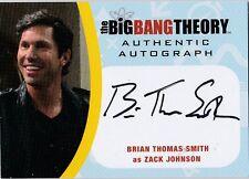 THE BIG BANG THEORY SEASONS  6 & 7 BTS2 BRIAN THOMAS SMITH AS ZACK AUTOGRAPH