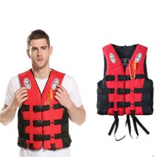 Unisex Adult Children Life Jacket Vest Buoyancy Swimming Safety Waistcoat Rescue