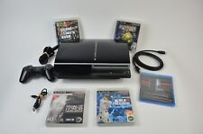 Sony PlayStation 3 500GB PLAYS CECH-G01 3.55 OFW *UPGRADED* PS1 & PS3 Games