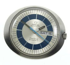 OMEGA Geneve dynamic head Day date Silver / Blue Dial Automatic Men's_594298