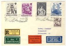 ÖSTERREICH - Toller LUFTPOSTBRIEF 24.12.1961 über CHRISTKINDL - ANSCHAUEN (519)