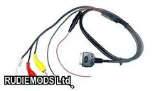 Connects2 iPod to 3 RCA Sound and Video Lead Aux Input Charging CT29IP02