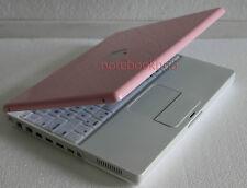 APPLE iBook G4 1.33 GHz LAPTOP COMPUTER WIRELESS CUSTOM PINK A1133