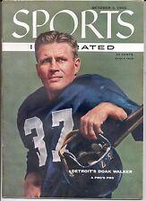 Sports Illustrated 1955 DOAK WALKER Detroit Lions NFL Football SMU No Label
