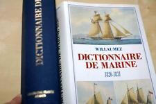 Dictionnaire de la Marine,1820-1831,WILLAUMEZ,il,Superb