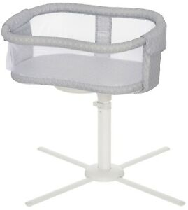 HALO Essentia Next Gen Swivel Sleeper Bassinet Infant Baby Crib Morning Mist NEW