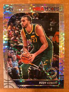RUDY GOBERT 2019-2020 NBA HOOPS Prizm Laser #187