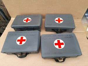 LANDROVER EX MILITARY /ARMY FIRST AID KITS (new stored stock ).no4 left now !