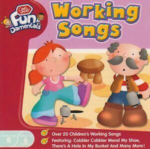 WORKING SONGS - 23 FUN CHILDREN'S SONGS CD - FREE POST IN UK