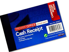 2 x Cash Receipt Book Office Invoice Carbonless Duplicate Business Paper Book