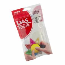 Das Color Modeling Clay 150g Air-Hardening in Resealable Bag, White (00390)
