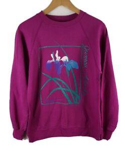 Juneau Alaska Sweatshirt Medium Size M Vintage 90s Vtg Pink 1993 Sweater