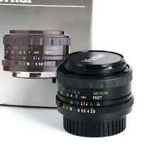 ^ Vivitar MC Wide Angle 28mm f2.8 Prime Lens for Pentax K Mount w/ Mount