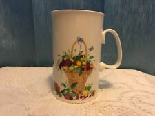 Dunoon Fine Bone China Harvest festival by Cherry Denman Made England