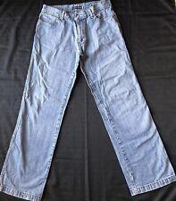 VTG London Signature mens Jeans Size 34 Light Blue Denim Pants.