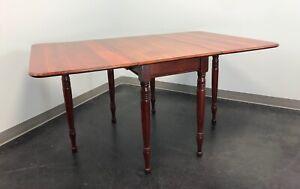 Antique Cherry Drop Leaf Gateleg Dining Table