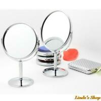 Portable Women Makeup Mirror Magnifying Double Sided Cosmetic Ladies Mirrors New