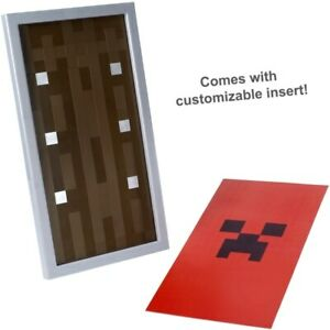 Minecraft Customizable Shield Armour Changeable Fronts Straps Role Play Kids Toy