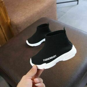 Kids Sneakers Children Toddler Baby Boy Girl Mesh Ankle Boots Sport Casual Shoes