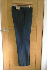 Mens Blue Mini Overcheck Trousers By John Lewis BNWT - 32 Long
