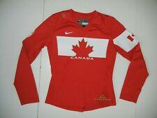 Nike TEAM CANADA Canadian Flag WINTER OLYMPICS HOCKEY JERSEY Shirt Sz Women's SM