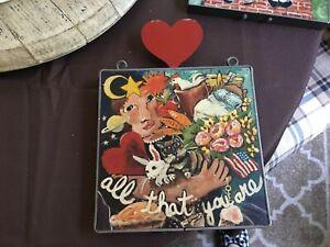 Nancy Thomas Folk Art All That You Art vintage