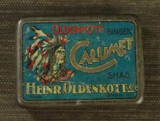 #2310 - Alte Tabakdose - Blechschachtel - CALUMET - H.Oldenkott Bingen
