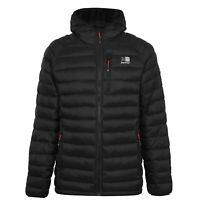 Karrimor Hot Rock Insulated Jacket Mens Gents Down Coat Top Lightweight Hooded