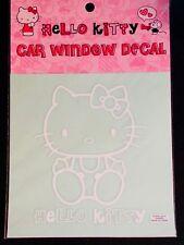 SANRIO HELLO KITTY Car Window Decal - White - Nakajima USA Inc.
