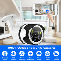 1080P HD WIFI IP Camera Wireless CCTV Home Security IR Night Vision 2.0MP WebCam