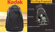 Kodak Pro Sling Backpack Bag For Canon EOS Rebel 10D 30D 5D 7D XS XSi 450D 1000D