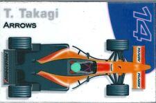 Aimant magnet Prost 1999 Formule 1 Formula 1 F1 Toranosuke Takagi Repsol Arrows