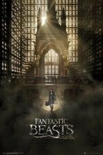 FANTASTIC BEASTS AND WHERE TO FIND THEM ~ SUBWAY ~ 24x36 MOVIE POSTER ~ POTTER!