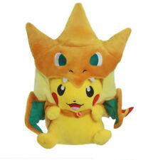 Pokemon  Pikachu Mega Charizard  Stuffed Animals Plush Children Toys  Gifts