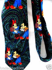 Vintage Mickey Mouse Minnie Mouse Necktie! Disney! *Licensed Merchandise*
