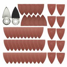 Kit Triangular Finger Sanding Pad Oscillating Multi-Tool Replacement For Fein
