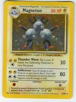 Magneton - Base Set - 9/102 - Holo-Foil - Rare - Pokemon Card - EXC/NM Condition