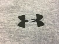 Under Armour Heather Gray Womens Small Short Sleeve Compression Shirt EUC
