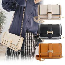 Women Chain Purse Satchel Top-Handle Handbag Box Casual Shoulder Crossbody Bag