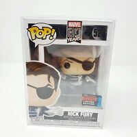 Nick Fury Funko POP! Marvel #528 NYCC 2019 Exclusive Official Con Sticker 80 Yrs
