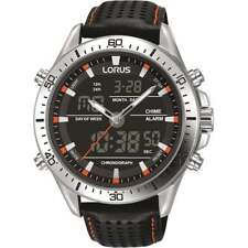Mens Lorus Sports Alarm Chronograph Watch RW637AX9