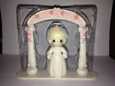 PRECIOUS MOMENTS BRIDAL SHOWER W/ARCH CAKE KIT 303C BAKERY CRAFTS RETIRED VHTF