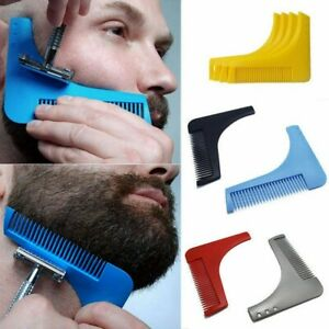 Trimmer Beard Shaping Comb Trim Styling Template Molding Bro Cut Gentlemen Tools