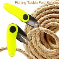 Fishing Tackle Knife Foldable Fishing Scissors Outdoor Sports Equipment Tool New