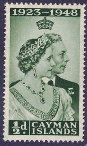 1948 Cayman Island SC# 116 - Silver Wedding Issue - M-NH