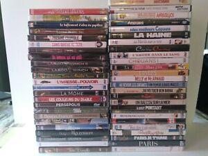 LOT 50 DVD FILM FRANCAIS COMEDIE POLICIER NEUF SOUS BLISTER L1