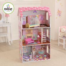 Kidkraft Penelope Dollhouse | Wooden Doll House fits barbie doll